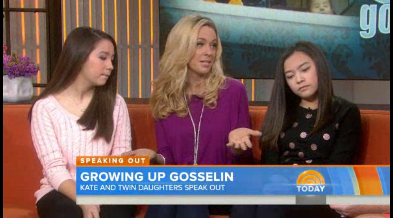 Kate Gosselin and Twins NBC Today New Kate Gosselin Special to Air on TLC