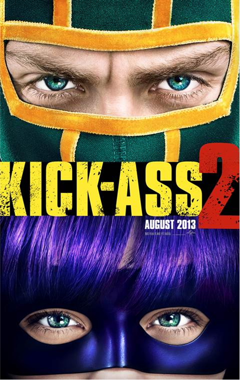 Kick Ass 2 Movie Poster Kick Ass 2 Finally Gets A New Trailer, Watch It Here