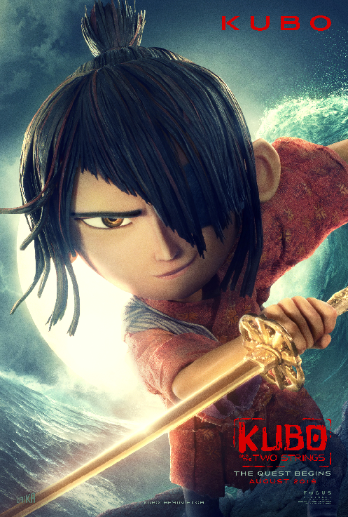 Kubo Character Poster