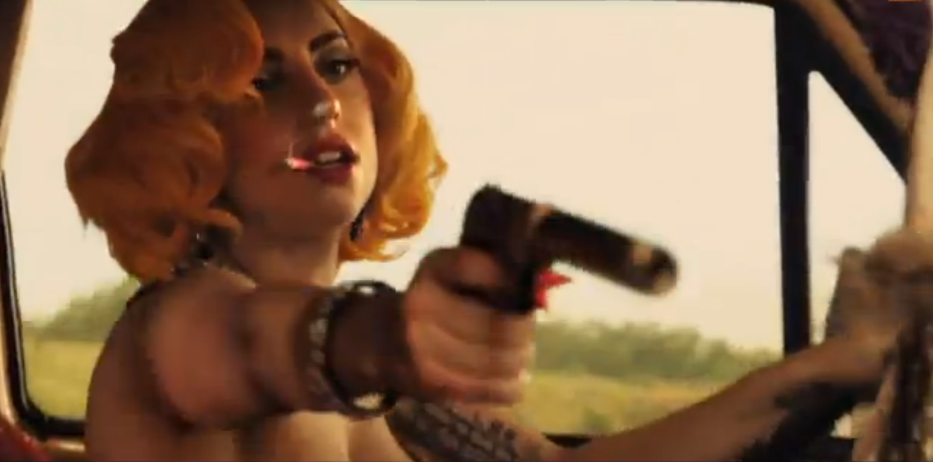 Lady Gaga Machete Kills New Trailer of Machete Kills Features Lady Gagas New Song, Aura