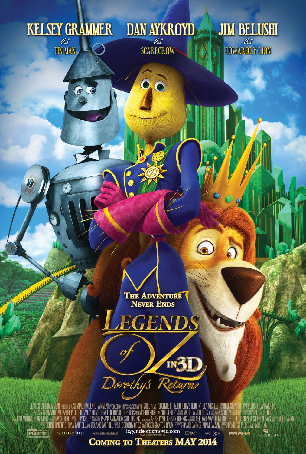 Watch Legends of Oz: Dorothy's Return (2013) online free