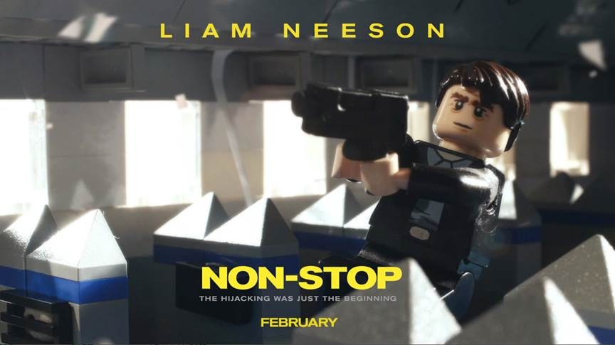 Liam Neeson Is Non Stop In Suspence Thrillers New Lego Trailer Liam Neeson Is Non Stop In Suspence Thrillers New Lego Trailer