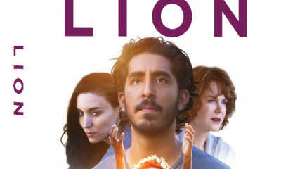 Lion Blu-ray Cover Art