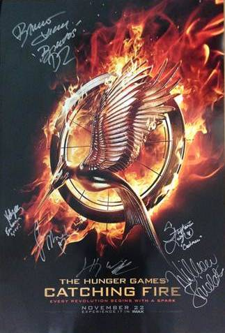 Lionsgate Auctioning Catching Fire Prize Pack to Benefit Elizabeth Glaser Foundation Lionsgate Auctioning Movie Prize Packs to Benefit Elizabeth Glaser Foundation