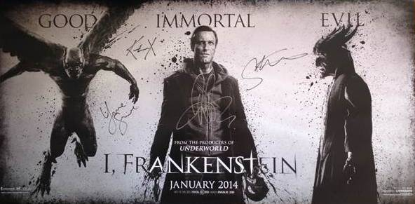 Lionsgate Auctioning I Frankenstein Prize Pack to Benefit Elizabeth Glaser Foundation