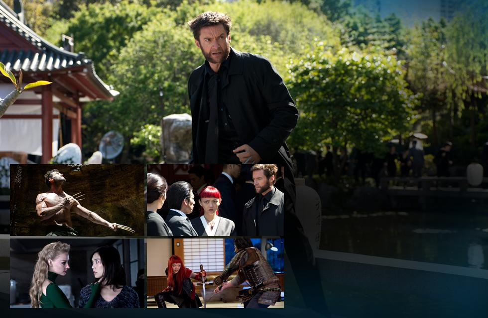 Logan Viper and Yukio in The Wolverine Intense New Images From The Wolverine Released
