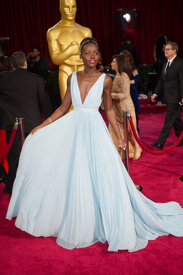 Lupita Nyongo Oscars Lupita Nyongo and Gwendoline Christie Cast in Star Wars: Episode VII