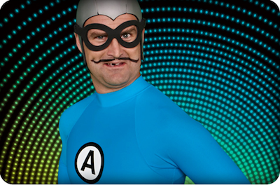 MC Bat Commander Aquabats