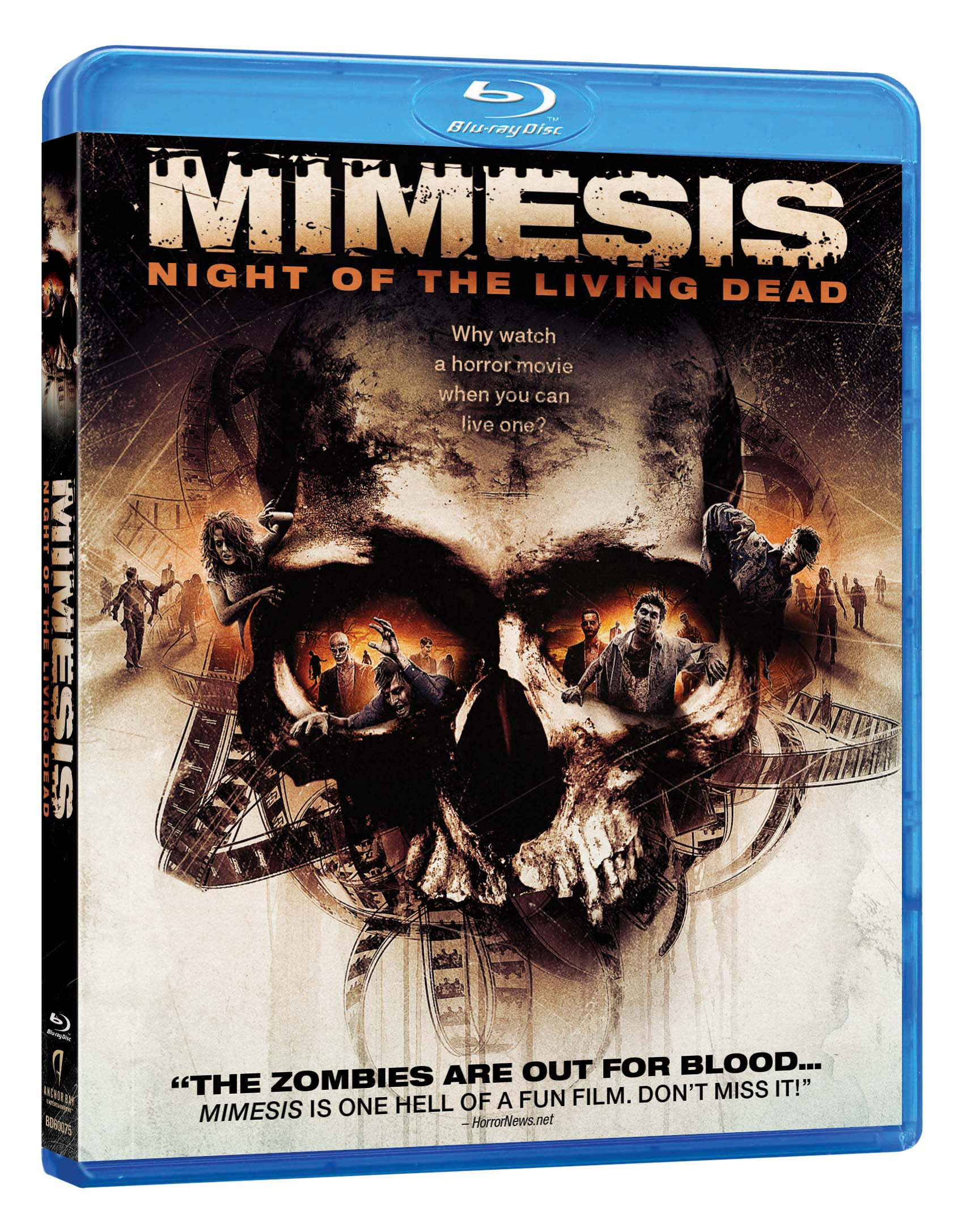 MIMESIS blu ray 3d Win A Mimesis Blu ray From ShockYa!