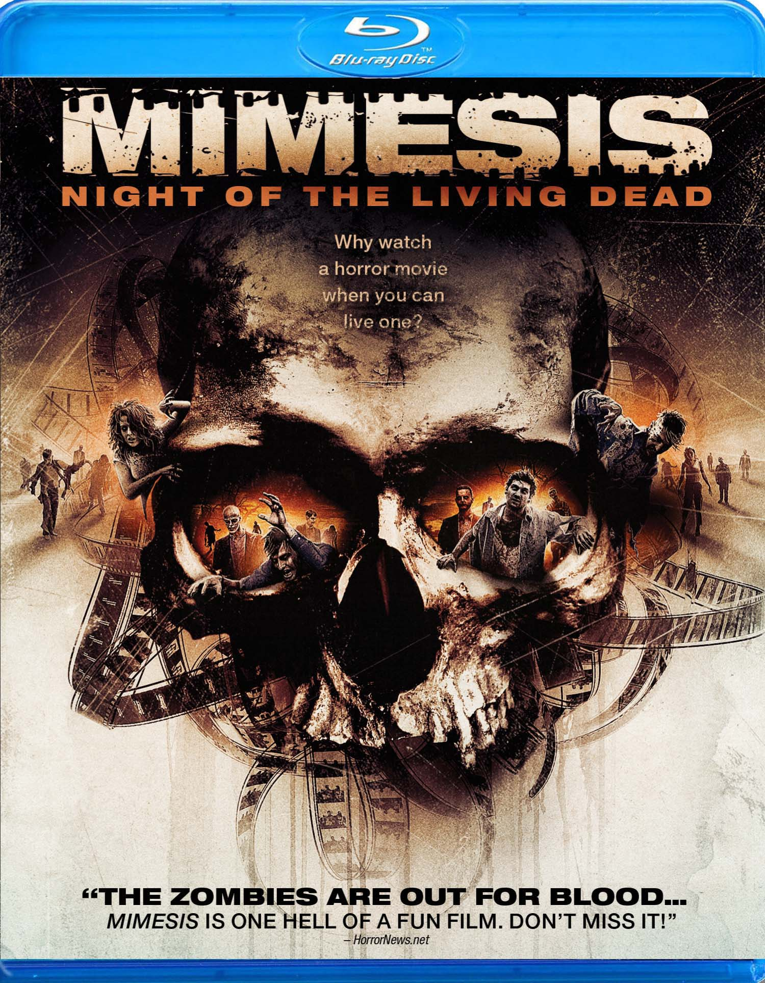 MIMESIS blu ray flat Mimesis Clip Has Spirit Of Night Of The Living Dead