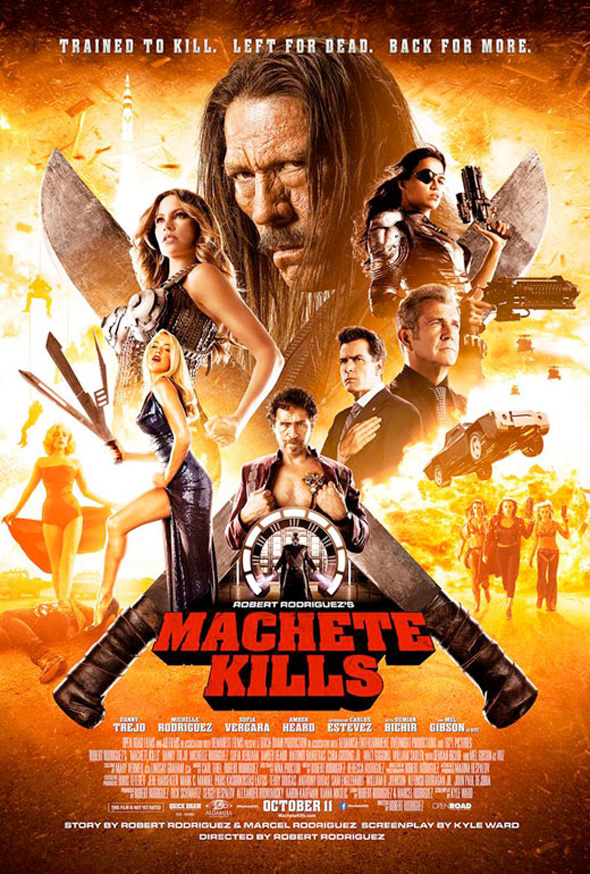 Machete Kills His Co Stars In New Official Posters and Stills Machete Kills His Co Stars In New Official Posters and Stills