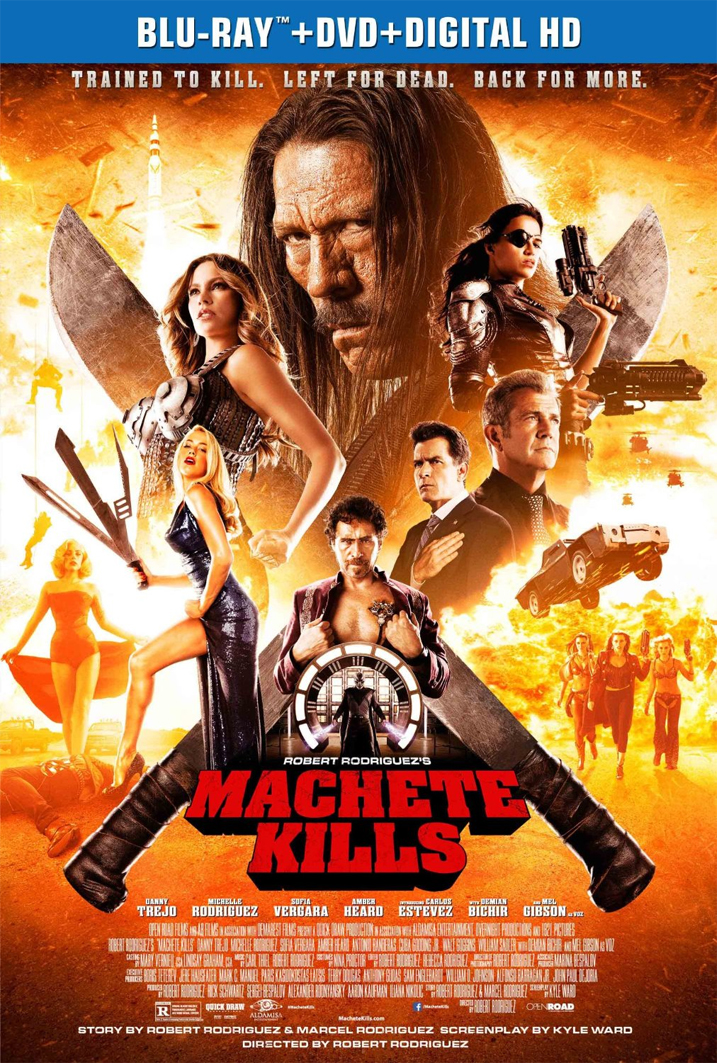 Machete Kills on Blu-ray and DVD with New Film Clips