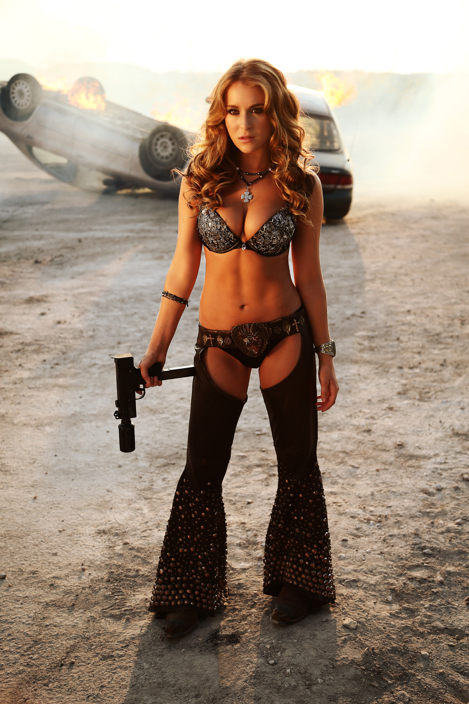 Machete Kills Alexa Vega Still