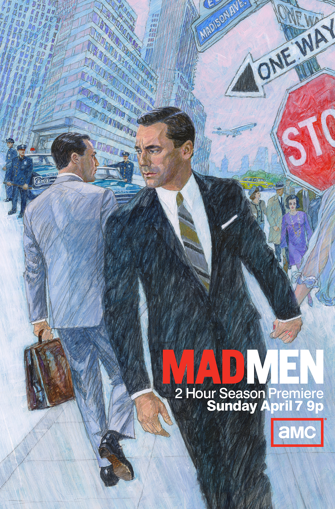 Cool Mad Men Season 6 Key Art Released
