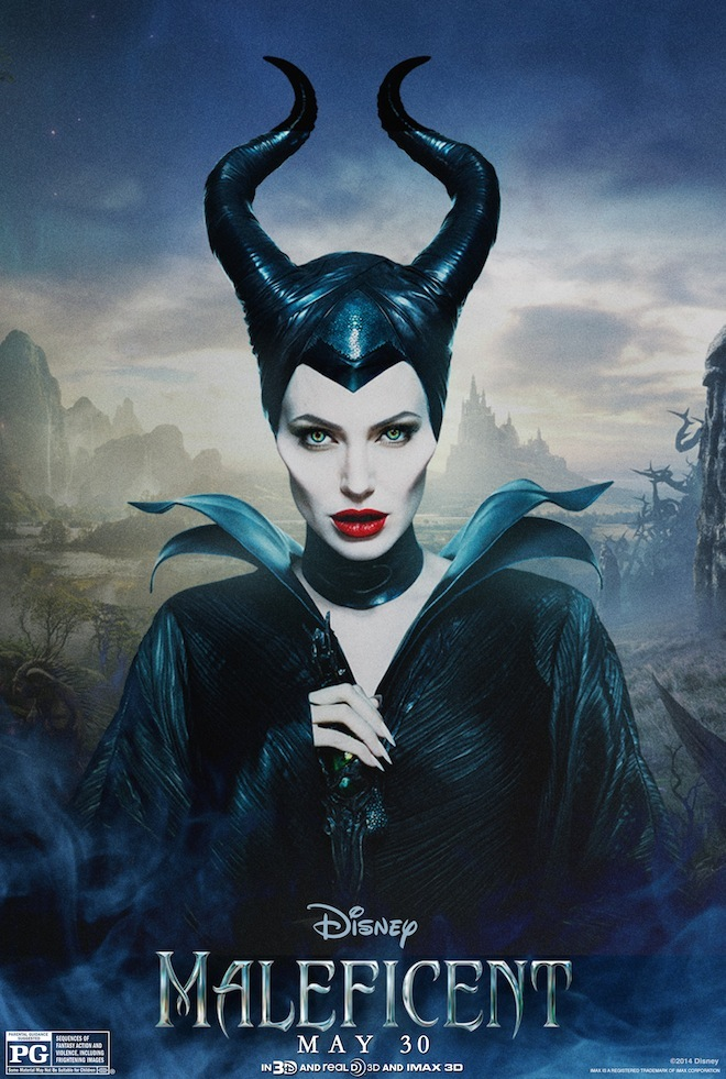 Maleficent Character Poster Angelina Jolie Gets Into an Awkward Situation In New Maleficent Clip