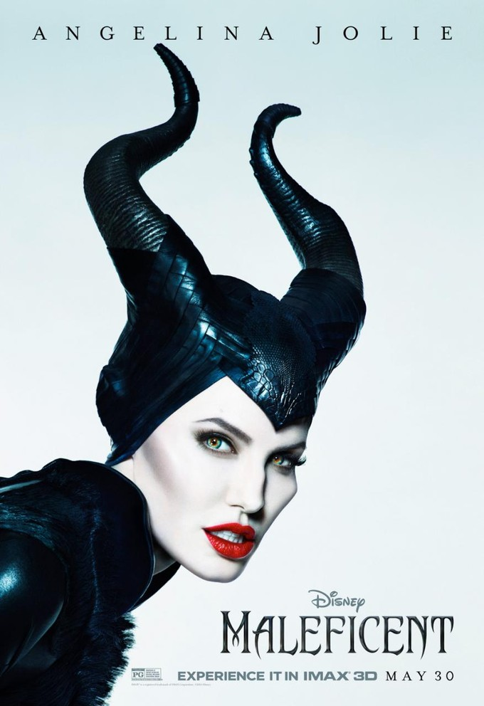 Maleficent IMAX Poster Angelina Jolie Gets Into an Awkward Situation In New Maleficent Clip