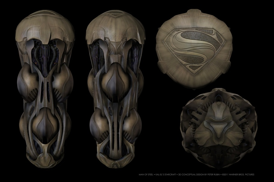 Man of Steel Concept Art 2 Really Cool Superman: Man of Steel Concept Art Discovered