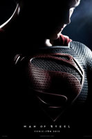 Man of Steel Poster CinemaCon 2013: Warner Bros. Bring Out Man Of Steel, Pacific Rim, Gravity And More