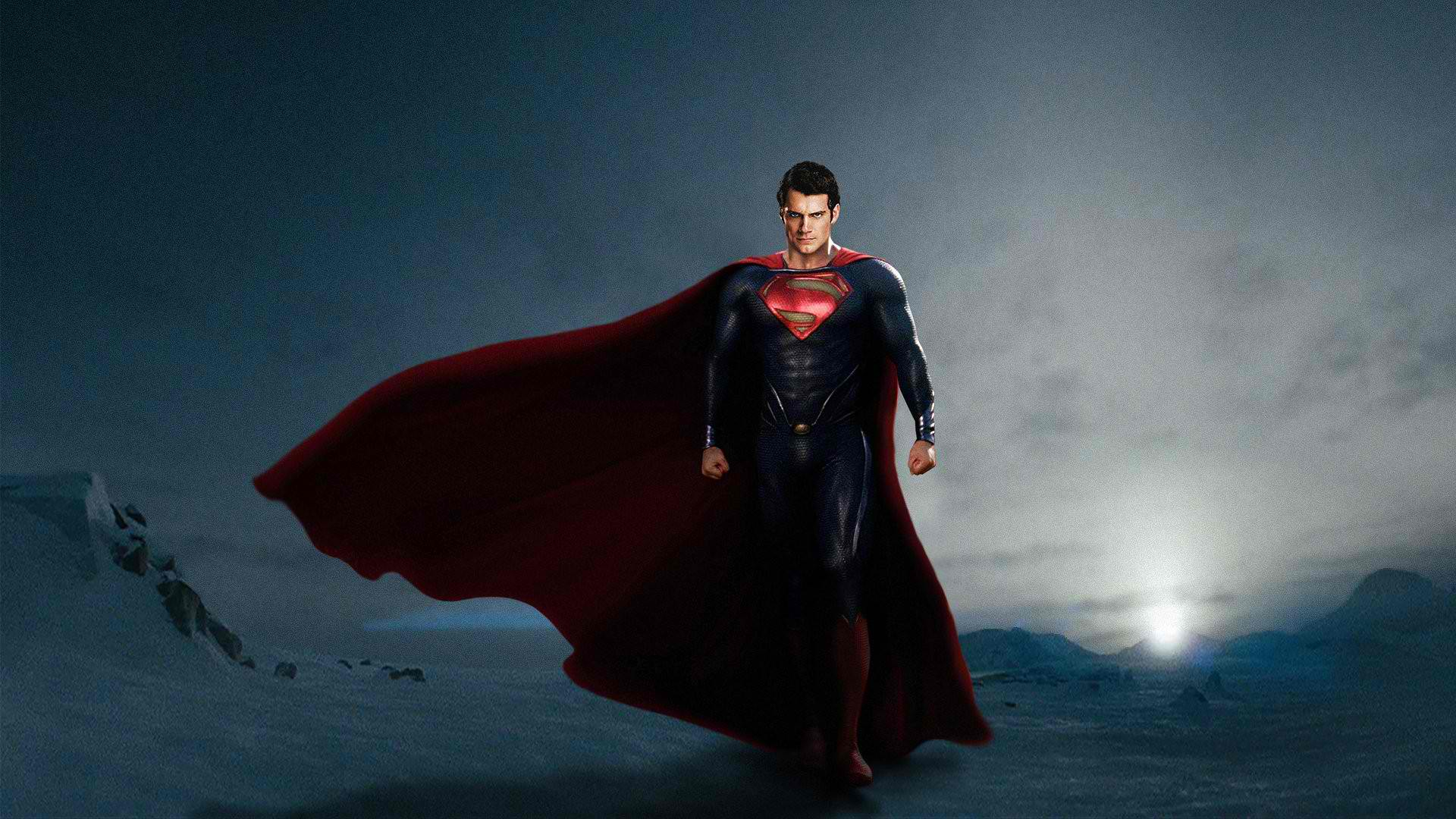 Man of Steel Promo Artwork