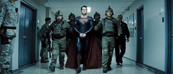 Man of Steel Under Arrest Badass New Clip from Superman: Man of Steel Released