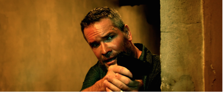 Matt Tompkins as Calhoun in The Harrowing