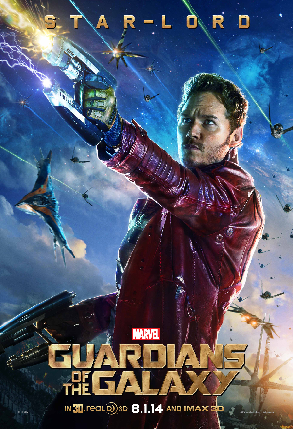 Meet Star Lord of Marvels Guardians of the Galaxy In Poster Meet the Characters of Marvels Guardians of the Galaxy In Posters