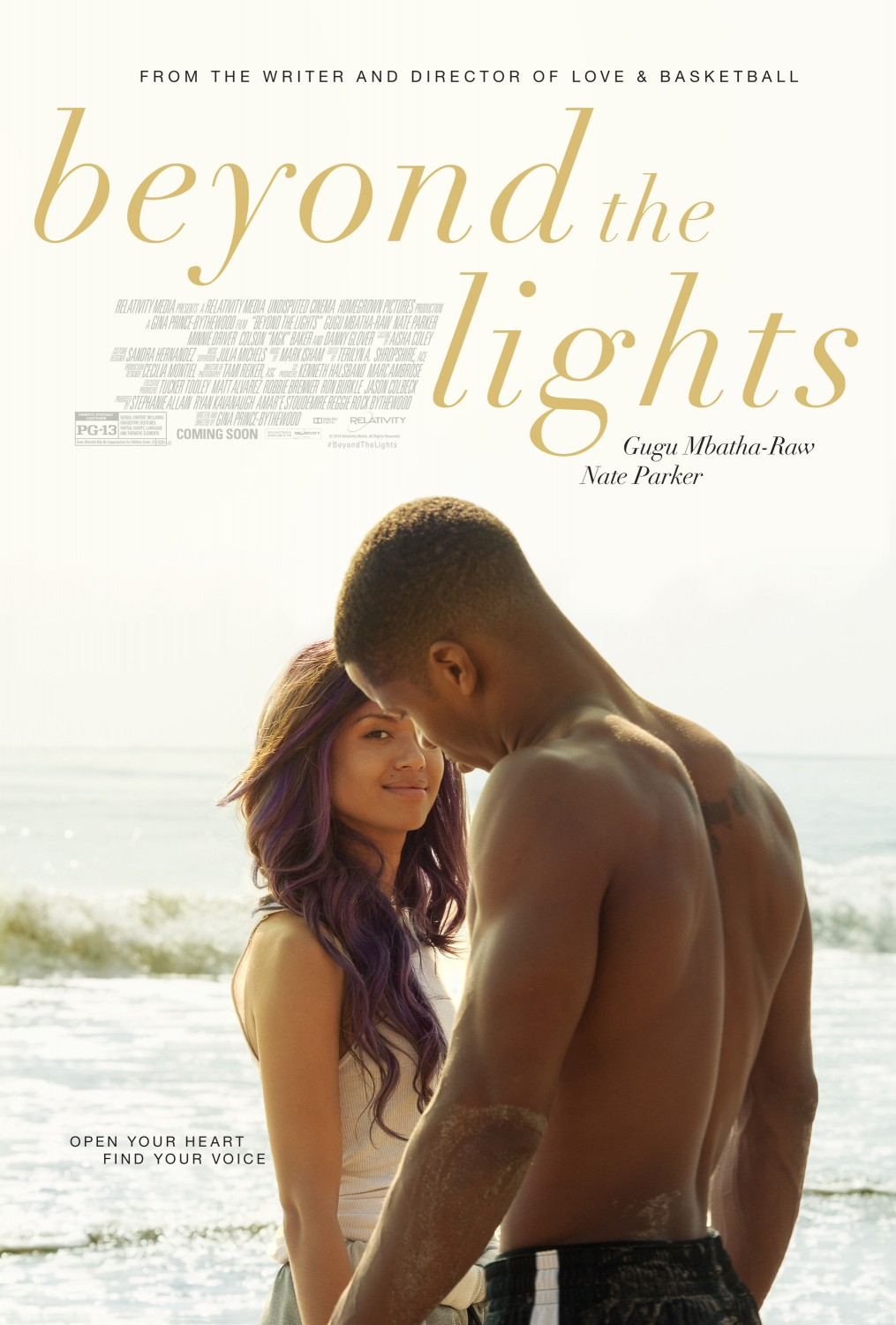 Meet the Worlds Latest Superstar In Beyond the Lights Trailer and Poster Meet the Worlds Latest Superstar In Beyond the Lights Trailer and Poster
