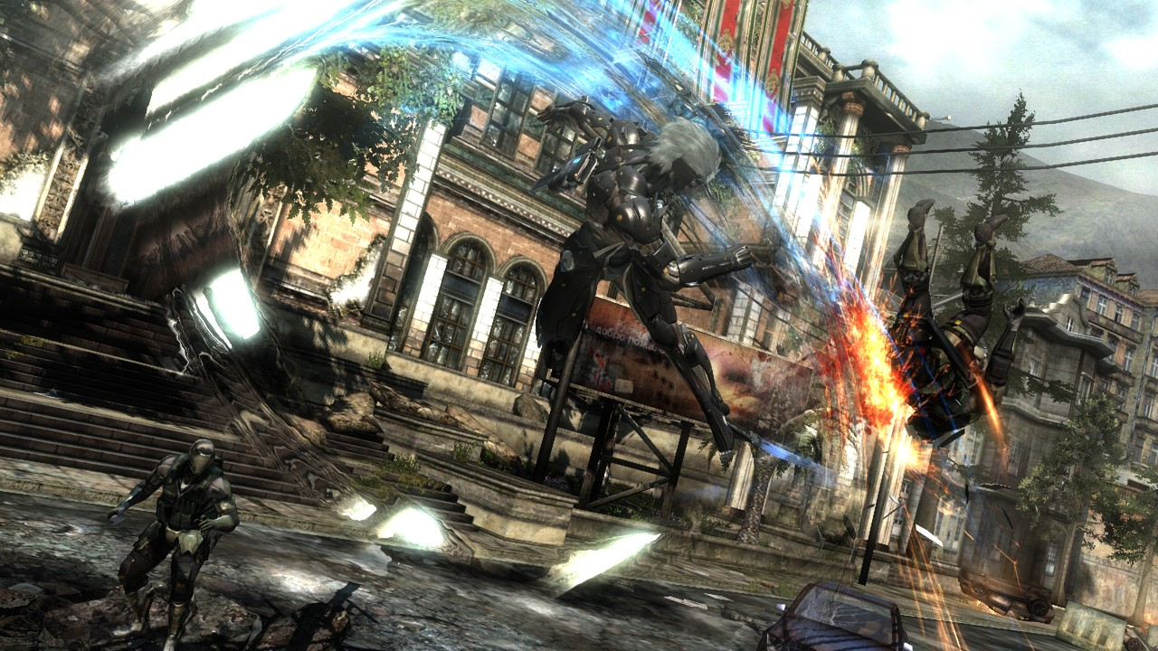Metal Gear Rising Revengeance scr 6 Metal Gear Rising Revengeance Unmanned Gears Trailer