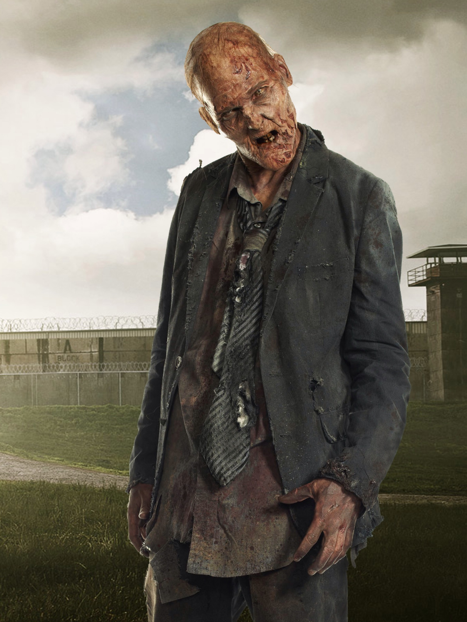 Michael Koske in The Walking Dead Zombie Exclusive Interview: The Walking Deads Michael Koske Talks About Playing A Zombie