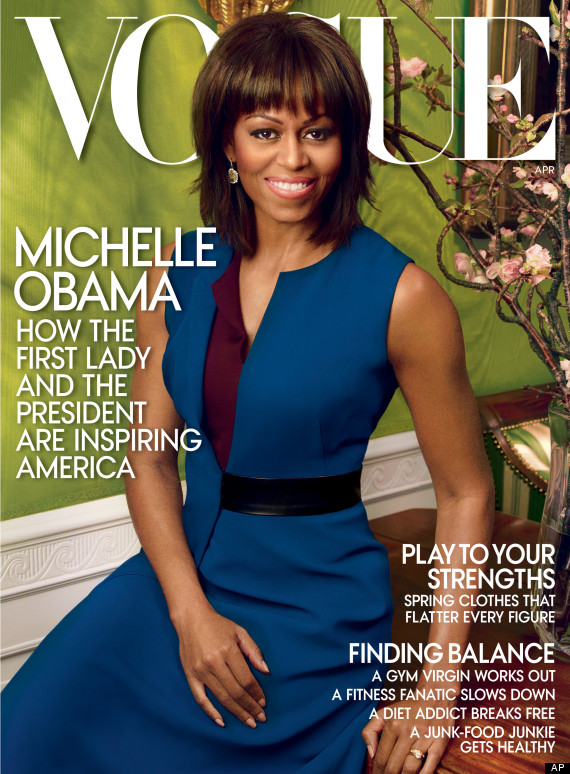 Michelle Obama Vogue First Lady Michelle Obama Graces Cover Of Vogue