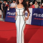 Michelle Rodriguez Stuns in Herve Leger by Max Azria at Fast Furious 6 Premiere 150x150 Nichole Galicia Shines in Herve Leger at Essence Black Women in Hollywood Luncheon