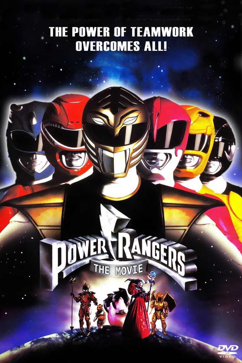 Mighty Morphin Power Rangers The Movie 1995 movie poster Mighty Morphin Power Rangers Coming Back to Theaters in New Movie