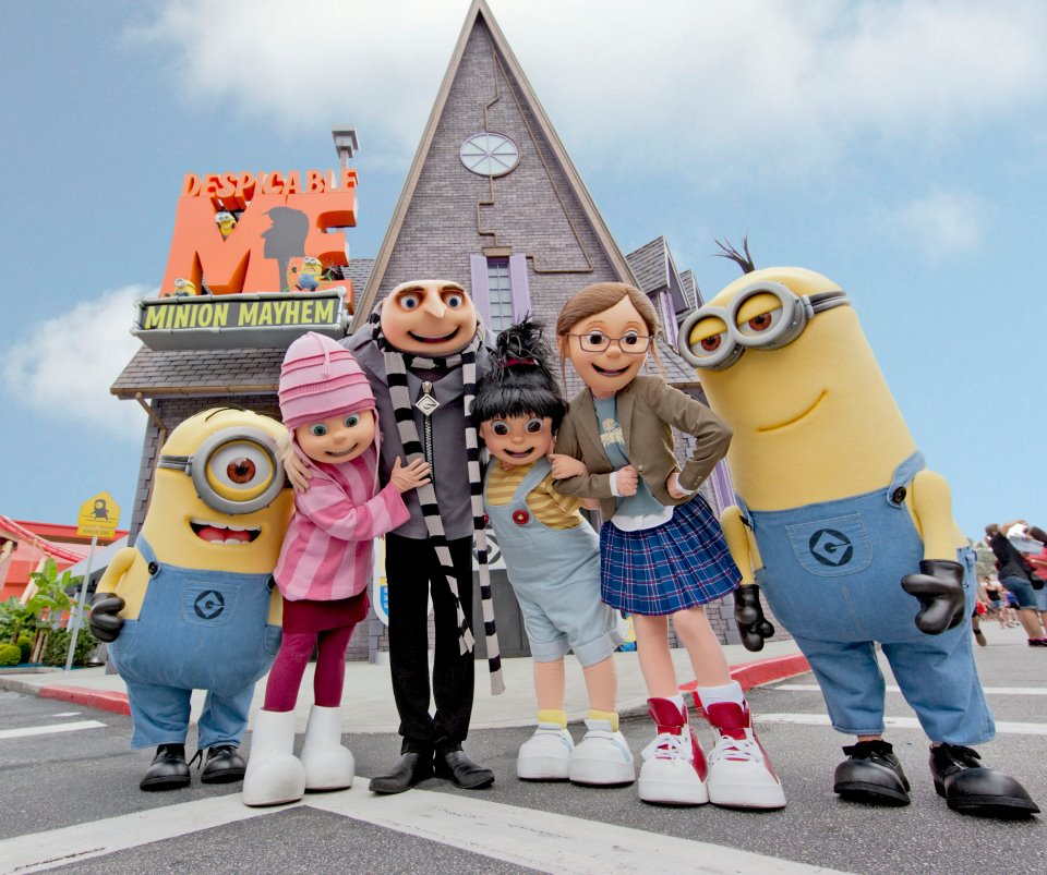 MinionMayhem Universal Studios Opens New Despicable Me Minion Mayhem Ride