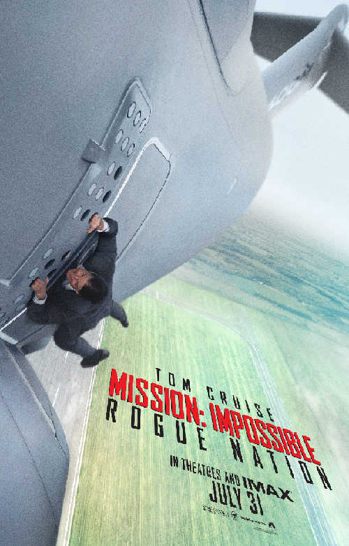 Mission Impossible-Rogue Nation Teaser Poster