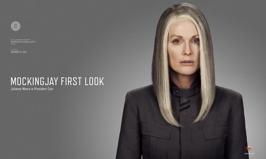 Mockingjay President Coin Digital First Look at The Hunger Games: Mockingjay Part 1 Showcases President Coin