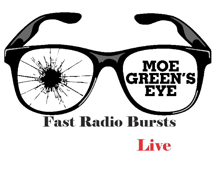 Moe Green's Eye Fast Radio Bursts Live EP Cover
