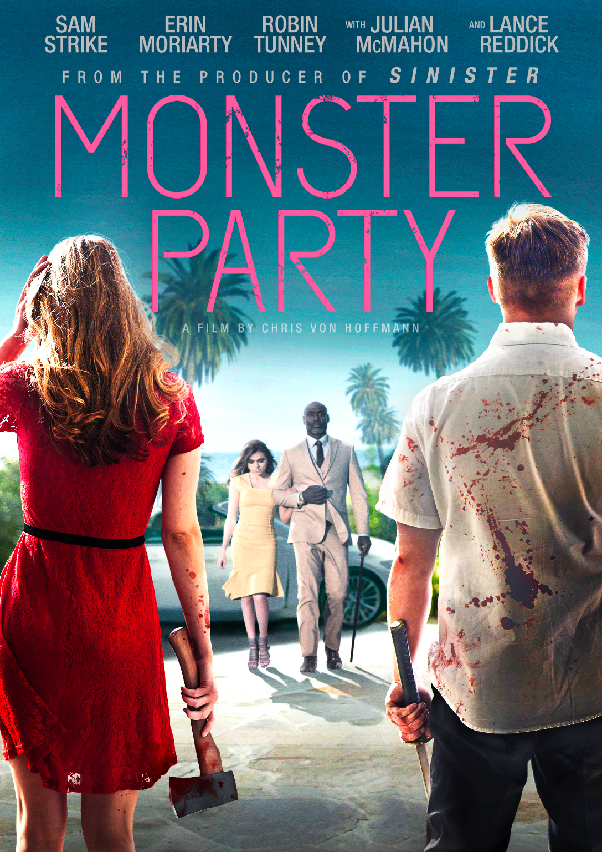 Monster Party DVD Cover