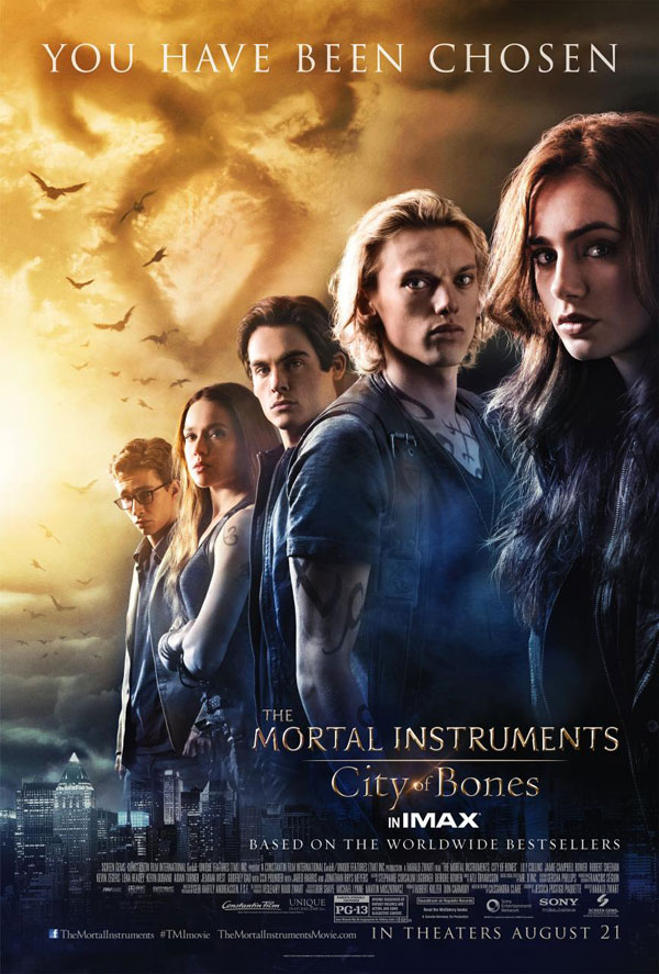 Mortal Instruments Poster1 The Mortal Instruments: City of Bones Movie Review