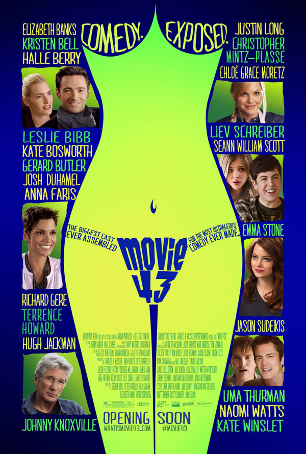 Movie 43 Poster Movie 43 Movie Review