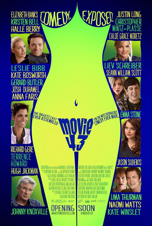 Movie 43 Poster Movie 43 Movie Review