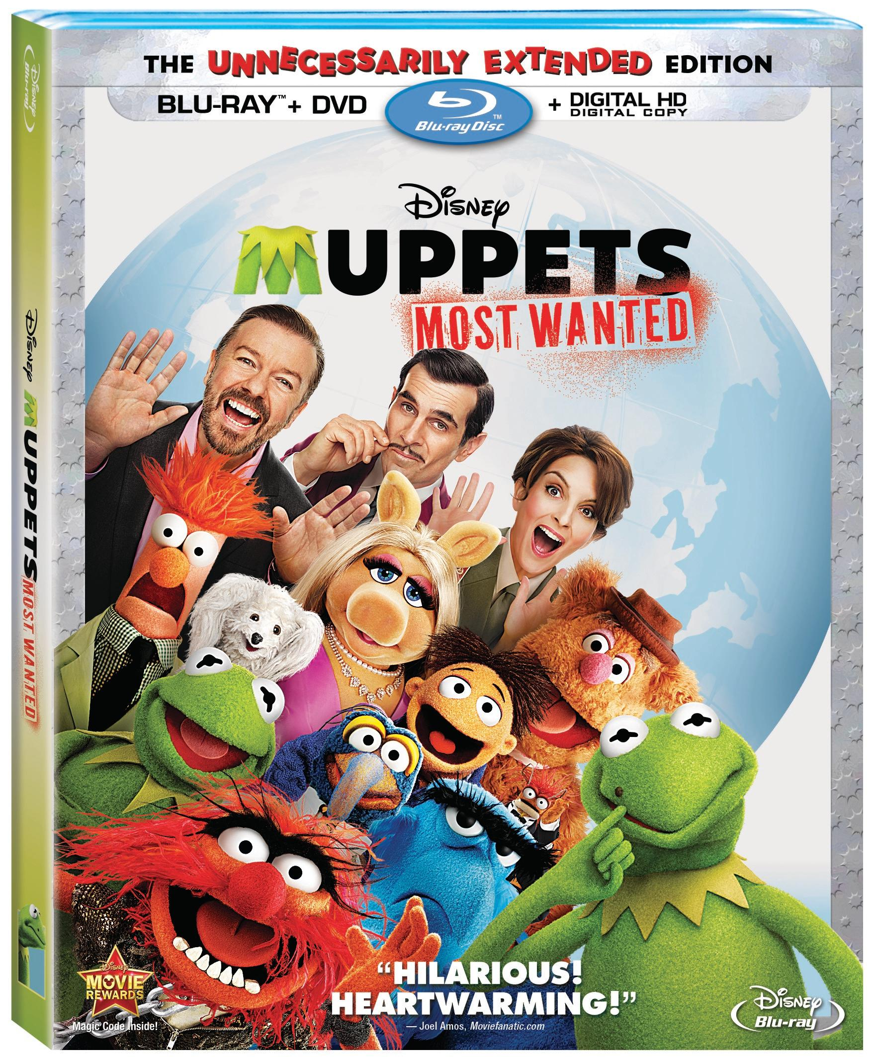 MuppetsMostWantedBlurayCombo Muppets Most Wanted Celebrates its Home Release with Tons of Clips