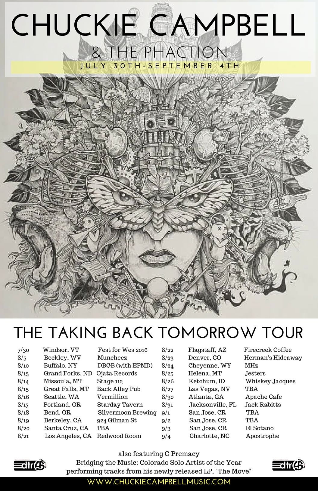 Hip Hop Artist Chuckie Campbell Announces His Taking Back Tomorrow Tour