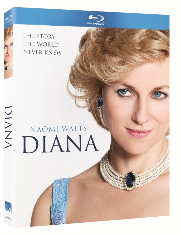 Naomi Watts Diana Dazzles with Blu ray and DVD Release Naomi Watts Diana Dazzles with Blu ray and DVD Release