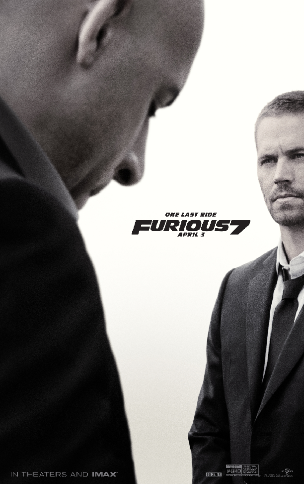 New Furious 7 Poster and Trailer Show Vin Diesel Going For One Last Ride