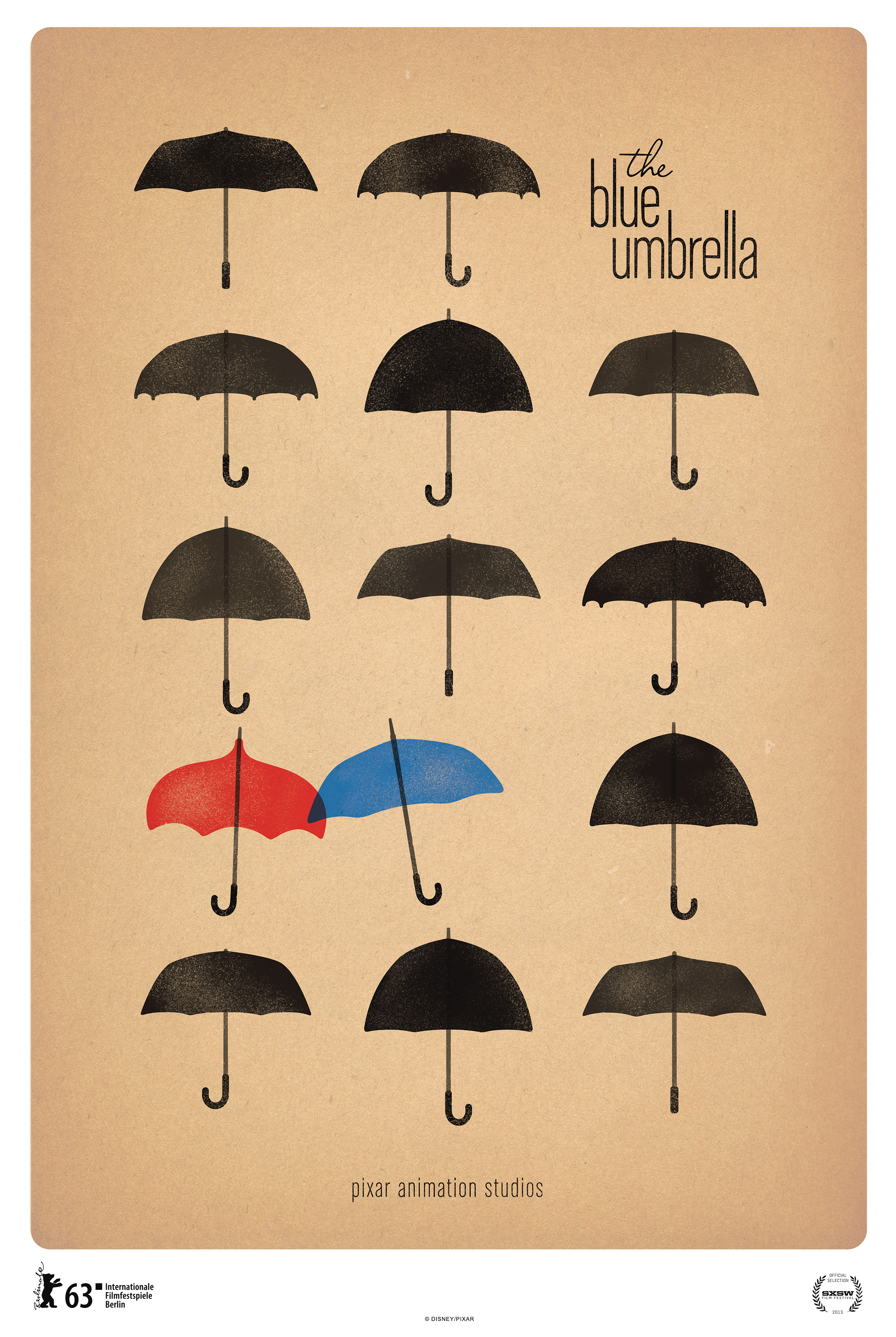 New Poster For Disney Pixar Animated Short The Blue Umbrella Released New Poster For Disney Pixar Animated Short The Blue Umbrella Released