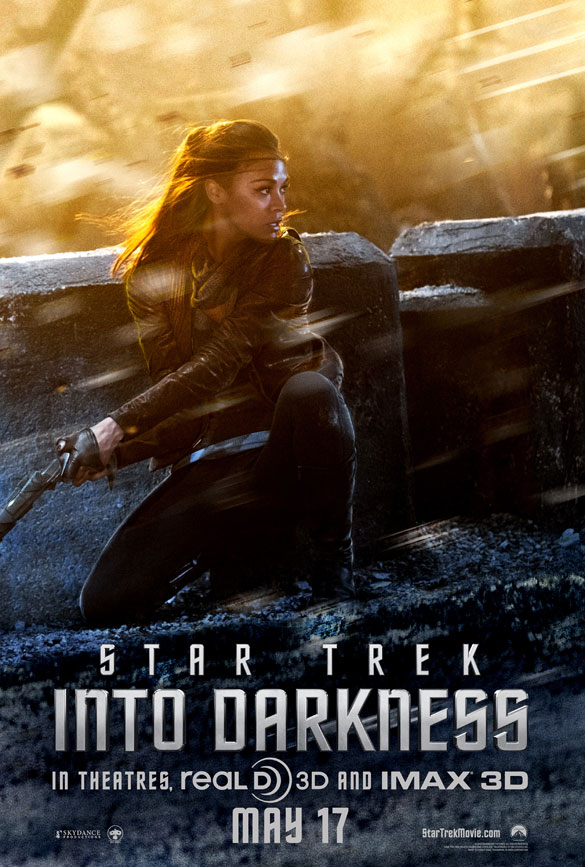 New Star Trek Into Darkness Uhura Poster Released