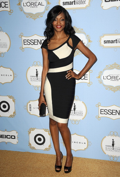Nichole Galicia Shines in Herve Leger at Essence Black Women in Hollywood Luncheon Nichole Galicia Shines in Herve Leger at Essence Black Women in Hollywood Luncheon