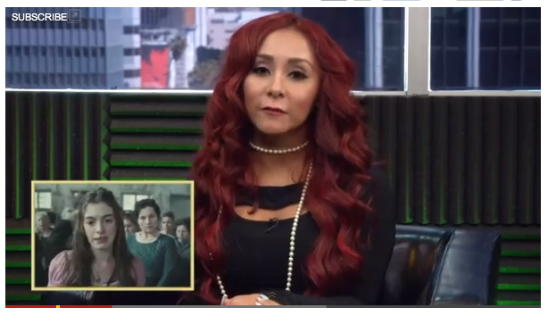 Nicole Snooki Polizzi Give Predictions for 85th Academy Award Winners Nicole Snooki Polizzi Give Predictions for 85th Academy Award Winners