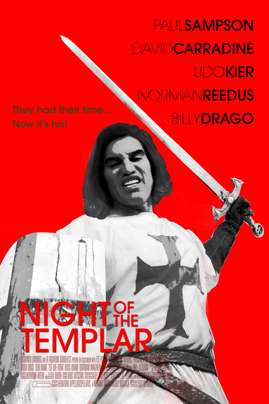 Night OF The Templar Poster 4 Night Of The Templar Fighting Evil on DVD