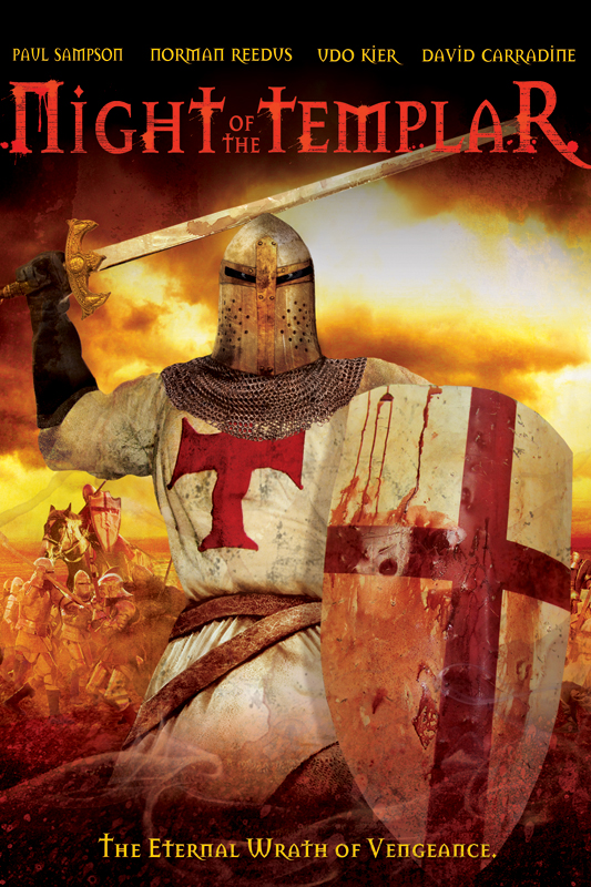 Night Of The Templar Poster Night Of The Templar Fighting Evil on DVD